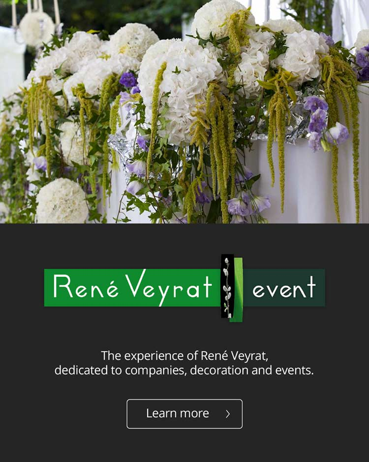 Flowers for enterprise, decoration and events